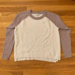 Madewell Raglan Sleeve Soft Yarn Sweater